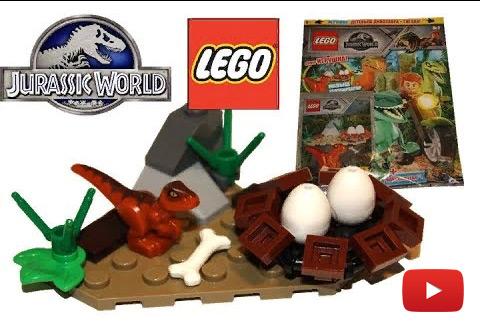 Обзор журнала LEGO Мир Юрского периода №1