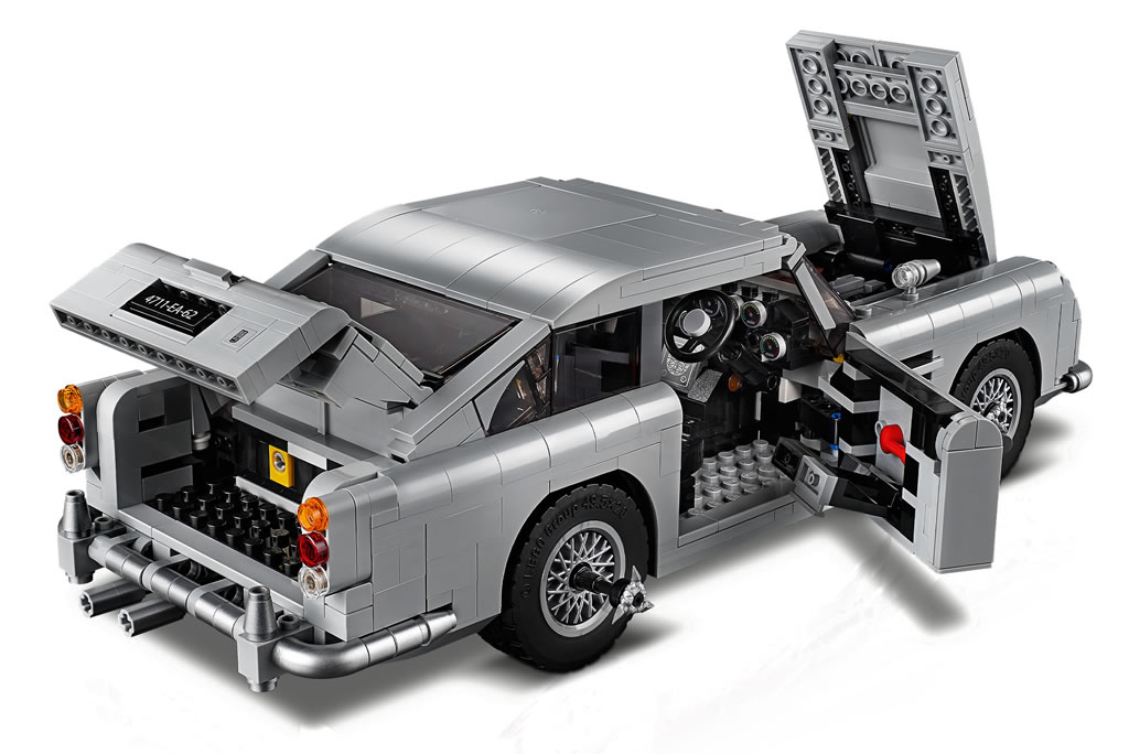 lego creator expert james bond aston martin db5 view 2