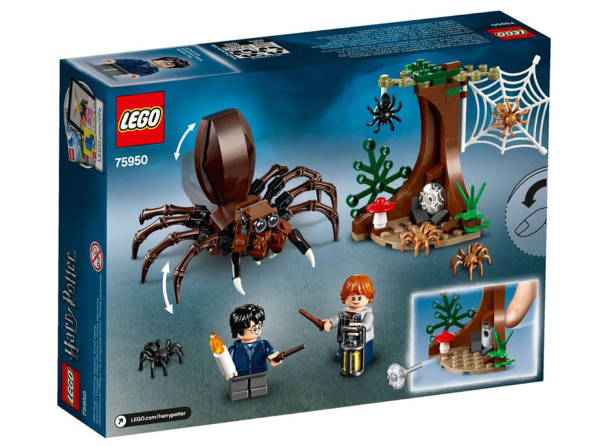 LEGO Harry Potter 75950 Aragogs Lair 02